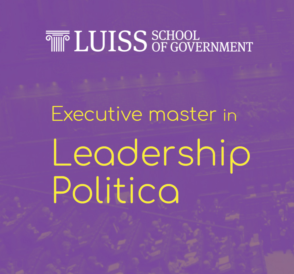 luiss leadership politica